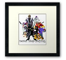 villains Framed Print