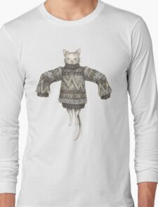 Sweater Puss T-Shirt Long Sleeve T-Shirt