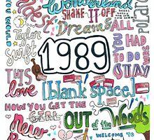 1989- Taylor Swift by amysterzzlyrics