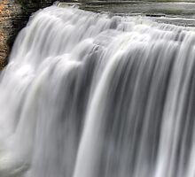 Middle Falls - Letchworth State Park by Paul Swiatkowski