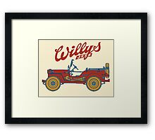 Willys-Overland MB 1941 Framed Print