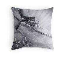 time to boogie-flying crates series Throw Pillow