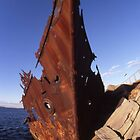 "The Wreck Of The ""Adolphe"", Newcastle, Australia by muz2142"