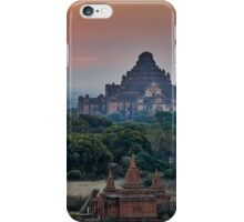 sunrise over Bagan iPhone Case/Skin