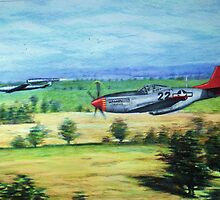 the chase-tuskeegee airmen series by ralburg