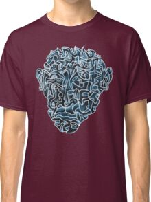 Abstract Head (self portrait) Classic T-Shirt