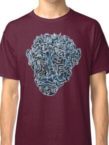 Abstract Head (self portrait) Classic T-Shirt