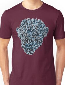 Abstract Head (self portrait) Unisex T-Shirt