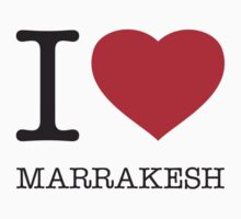 I ♥ MARRAKESH by eyesblau