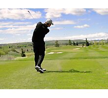 Golf Swing G Photographic Print
