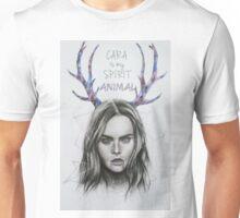 CARA DELEVINGNE ILLUSTRATION Unisex T-Shirt