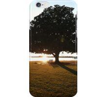 Magnolia in sunset iPhone Case/Skin