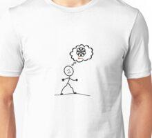 Thinking of darts Unisex T-Shirt