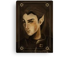thief portrait Canvas Print