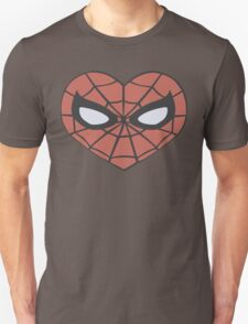 Spider-Man Heart T-Shirt Unisex T-Shirt