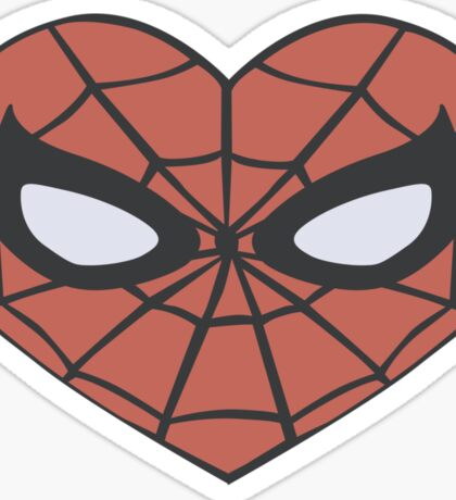 Spider-Man Heart T-Shirt Sticker