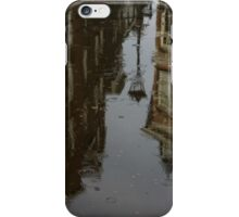 Starting to Rain - Amsterdam Canal Houses Reflected iPhone Case/Skin