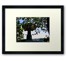 Swingin' Framed Print