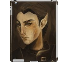 thief portrait iPad Case/Skin