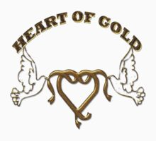HEART OF GOLD/  Art + Products Design  by haya1812