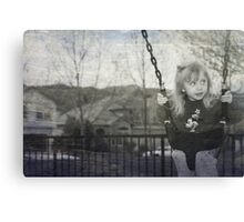 Swing to the Sky Canvas Print