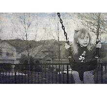 Swing to the Sky Photographic Print