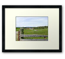 The Bar U Ranch, Alberta, Canada Framed Print
