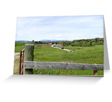 The Bar U Ranch, Alberta, Canada Greeting Card