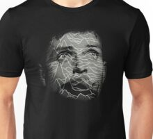 Ian Curtis - Joy Division. Unknown Pleasures Overlay Unisex T-Shirt