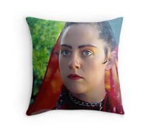 Joy Through The Looking Glass Throw Pillow