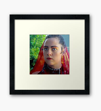 Joy Through The Looking Glass Framed Print