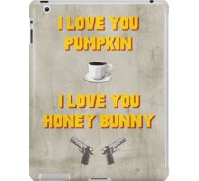 Pulp Fiction inspired valentine (1/2) iPad Case/Skin