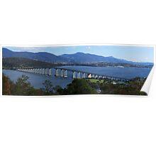 Tasman Bridge, Hobart, Tasmania Poster