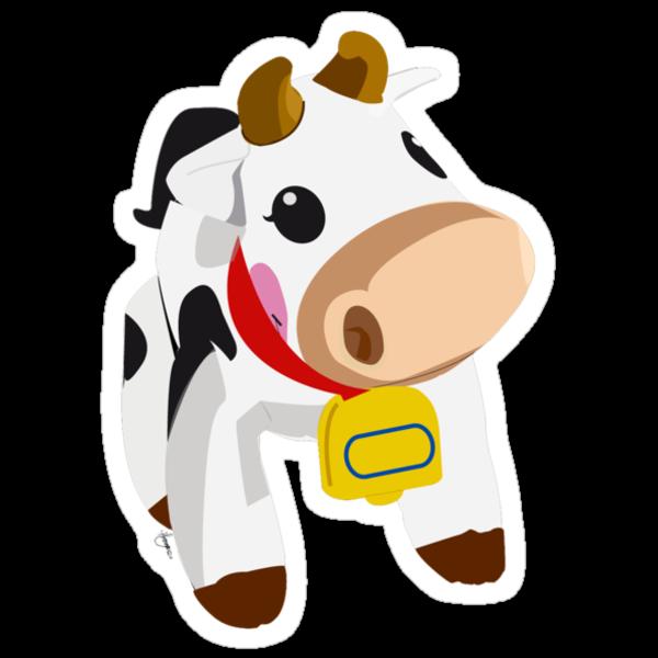 Cow by hayleymangano