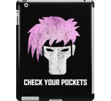 Gambit - Channing Tatum T Shirt - Comic Con 2015 iPad Case/Skin