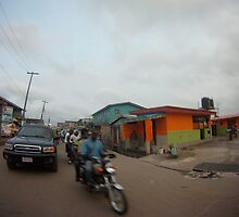 Driving in Lagos #9 by CrystalCWaters