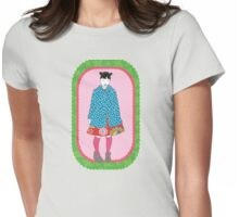 Girl Five Womens Fitted T-Shirt