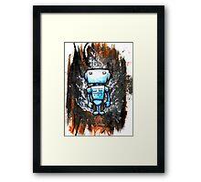 Random Robot Framed Print