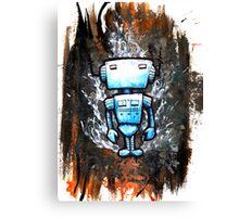 Random Robot Canvas Print