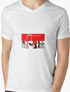 Dystopia Mens V-Neck T-Shirt