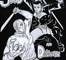 Dandy Highwayman Vs. Psycho Killer! by arcopitcairn