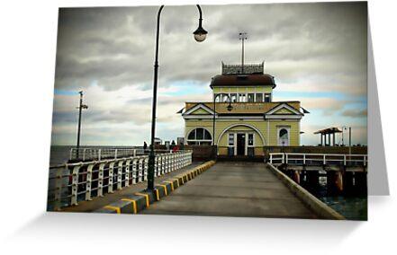 St Kilda Pier Melbourne by Gerijuliaj
