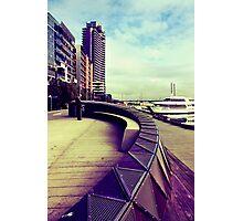 Waterfront City Photographic Print