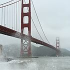 Gloomy Golden Gate by Daniel Robertson