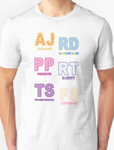My little Pony - Initials Elements of Harmony - White T-Shirt