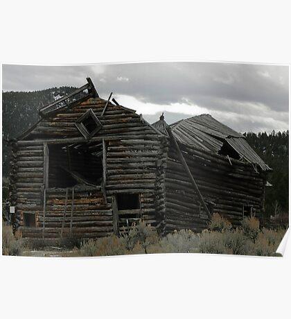 Pioneer Barn #3 Poster