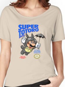 Super Totoro Bros Women's Relaxed Fit T-Shirt