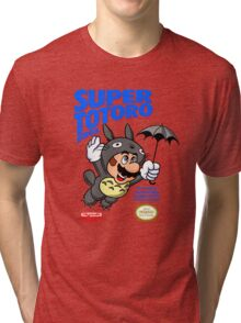 Super Totoro Bros Tri-blend T-Shirt