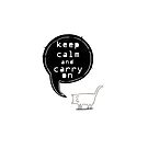 keep calm and carry on  by theArtoflOve