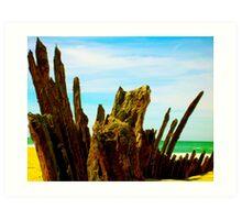 90 mile shipwreck - Trinculo series 2 Art Print